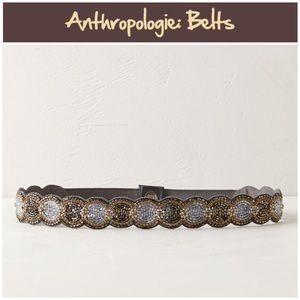 "Anthro ""Beaded Blooms Belt"""